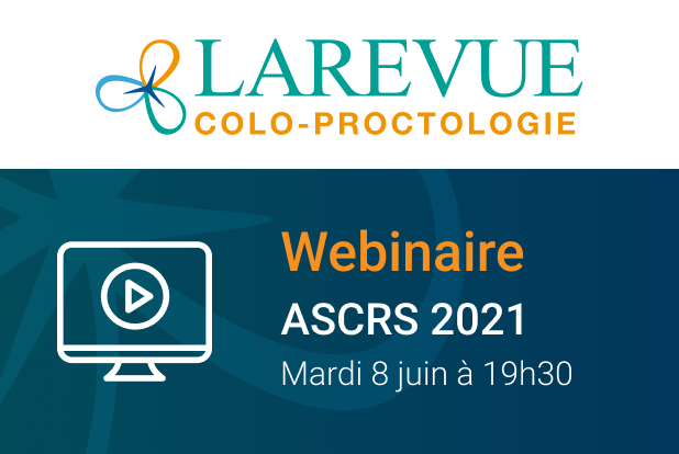 Webinaire reportage ASCRS 2021